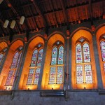 Lancet windows designed by Pugin