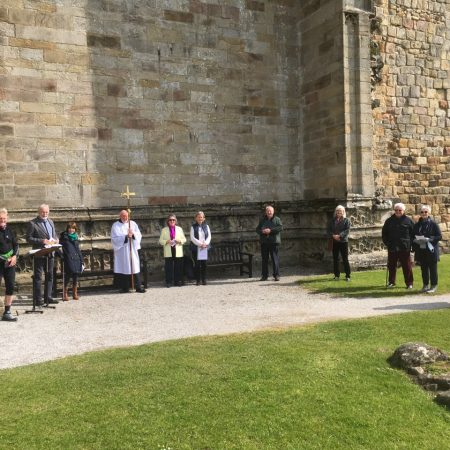 Ascension Day service at Bolton Priory